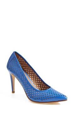 Halogen® 'Mandie' Perforated Pointy Toe Pump (Women) available at #Nordstrom