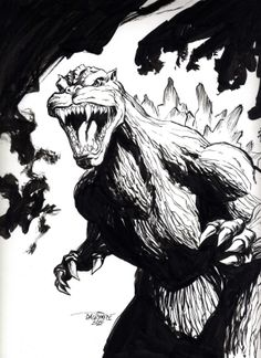 Godzilla by Scott Dalrymple