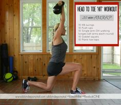 head to toe hiit workout