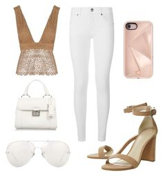 """""""Stylish with a touch of look at me I'm hot AF"""" by milanedmonds-1 on Polyvore featuring Related, Burberry, Miu Miu, Linda Farrow and Rebecca Minkoff"""