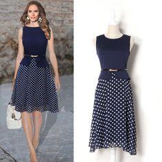 2015 Hot Sale Women Short Dress with 3/4 Sleeve Geometric Pattern Print Vintage Loose Flowy Mini Dress New Arrivals Summer