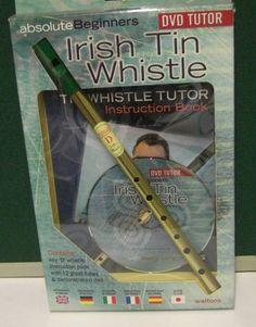 IRISH TIN WHISTLE KEY D WALTONS ABSOLUTE BEGINNERS TUTOR INSTRUCTION BOOK & DVD | eBay