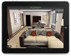 Holition created a bespoke application for Peninsula hotels, enabling users to digitally navigate around rooms in Hong Kong which are currently being developed. This was for internal use for Peninsula's CEO to showcase rooms to clients around the world.