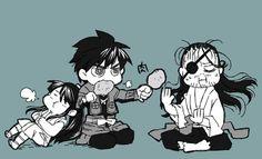 Yoichi, Shimazu y Nobunaga