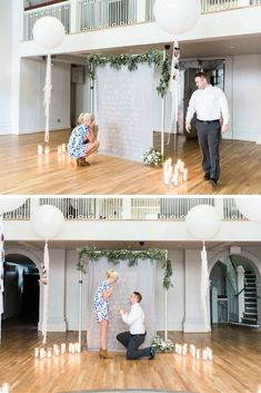 This guy planned the most amazing proposal with a giant love letter, and her reaction is adorable. Romantic Proposal, Proposal Photos, Perfect Proposal, Proposal Ideas, Surprise Proposal Pictures, Wedding Proposals, Marriage Proposals, Anniversary Surprise, Anniversary Ideas