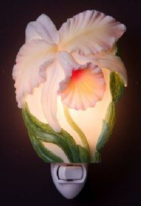 Amazon.com: Cattleya Orchid Night Light - Ibis & Orchid Flowers of Light Collection: Home Improvement