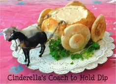 "Disney Princess Birthday or Tea Party: ""The Royal Coach"" Dip Boule"