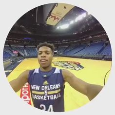 New Orleans PelicansVerified account  @PelicansNBA   Follow  More .@buddyhield with back to back 3-pointers!   Check out his view when he hits a 3 #Pelicans