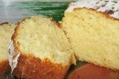 Vanilla cake on kefir- Ванильный кекс на кефире Vanilla cake on kefir - Best Pound Cake Recipe, Pound Cake Recipes, Food Cakes, Fruit Bread, Banana Bread, Kefir, Vegetarian Cake, Breakfast Cake, Turkish Recipes