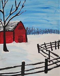 Barren Barn by Morgan McLaren