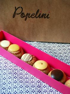 Popelini for a chou, or two. It's all they sell and they're a delicious change… Dessert Cake Recipes, Desserts, Food Packaging Design, Packaging Ideas, Croquembouche, French Patisserie, Egg Tart, Pastry Shop, Deserts