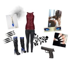 Untitled #25 by ashbaker on Polyvore featuring Theory, Versace and Amuse Society