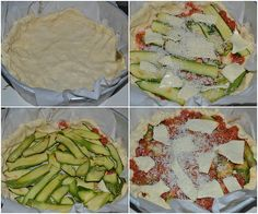 Torta rustica con parmigiana di zucchine, buonissima con zucchine cotte al forno e non fritte, una base croccante è un sostanzioso piatto goloso e saporito