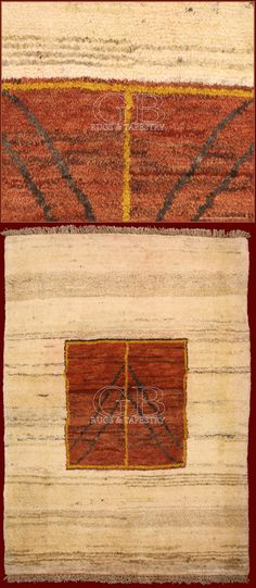 Gabbeh are exclusively hand knotted carpets in wool almost made by the women of the nomadic tribes that populated the southwest of Iran and that were inspired by the surrounding environment.
