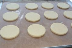 Biscuits for Decorating – Non Spreading, No Chilling Required