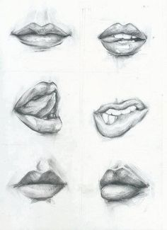 Drawn Lips Theory by ~ctromedea on deviantART