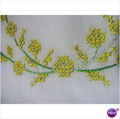 2 Vintage White Embroidery Pillowcases Yellow Wreath on eBid United States
