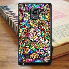 All Characters Disney Stained Glass Samsung Galaxy Note Edge Case