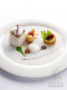 Crystal excels at culinary art. Expect the finest fare onboard every cruise. Michelin Star Food, Fish Dishes, Molecular Gastronomy, Culinary Arts, Food Plating, Plating Ideas, Food Design, Art Design, Creative Food
