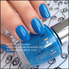 OPI Wild Blue Yonder – OPI Infinite Shine Summer 2015