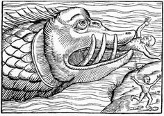 16th Century woodcut print