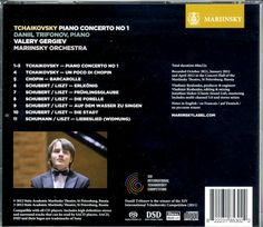 """Daniil Trifonov with Valery Gergiev and the Mariinsky Orchestra CD"" - Michael Moran - SEPTEMBER 11, 2012 - ""He has an intensity of passionate emotional communication of the creation of music as an art, as a kabbalistic craft, greater than any young pianist I know. A magician of the instrument. The Tchaikovsky concerto has fantastic drive and elan in the outer movements with an Andante semplice of deepest yearning."""