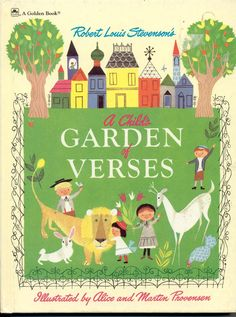 Vintage: A CHILD'S GARDEN OF VERSES BY ROBERT LOUIS STEVENSON