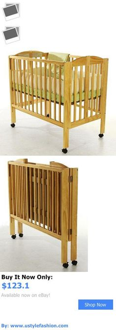 Bassinets And Cradles: Dream On Me 2 In 1 Portable Folding Stationary Side Crib Bed Nursery Furniture BUY IT NOW ONLY: $123.1 #ustylefashionBassinetsAndCradles OR #ustylefashion