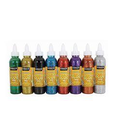 Love this Washable Glitter Glue Set on #zulily! #zulilyfinds