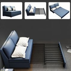 The best sleeper sofa & sofa transitional beds – Home Decor Sofa Bed For Small Spaces, Small Media Rooms, Guest Bedroom Office, Small Room Bedroom, Guest Room, Living Room Decor Furniture, Space Saving Furniture, Sofa Cumbed Design, Interior Design