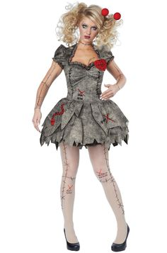 This costume includes a dress, printed panty hose, and a novelty pin. Does not include shoes. Color: Gray Gender: Female Age Group: Adult Occasion: Halloween Material: 100% Polyester Care Instruction: