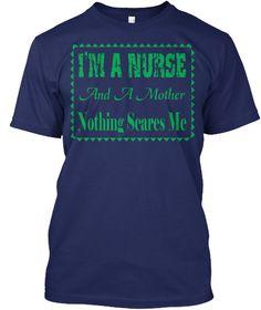I'm A Nurse T Shirt Navy T-Shirt Front