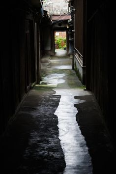 Back Alley of Kyoto, Japan