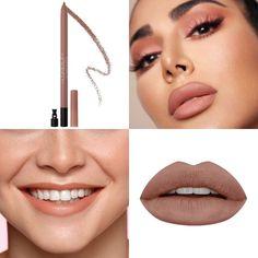 Huda Beauty Lip, Lip Contouring, Lip Pencil, Matte Lips, Septum Ring, Lipstick, Makeup, Rings, Jewelry