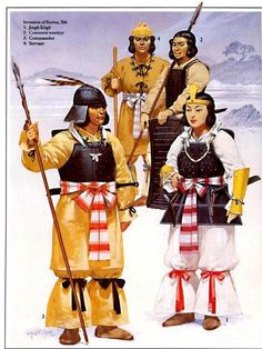 Japanese Warriors - Invasion of Korea 366 AD