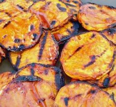 """Crispy Barbecued Sweet Potatoes: """"These easy-to-prepare sweet potatoes pack a big flavor punch, and with only 1 point per serving!"""" -TeresaS"""