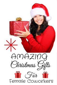 Find the perfect Christmas gift ideas for female coworkers. Check out some great, thoughtful and appropriate gifts for your female colleagues at work. Creative Gifts, Cool Gifts, Unique Gifts, Best Gifts, Gifts For Female Coworkers, Gifts For Teens, Perfect Christmas Gifts, Family Christmas, Christmas Ideas