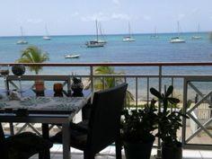 Tres beau studio Grand studio avec une tr�s belle vue mer � marigot saint-martin - Location Appartement standing #SaintMartin #Marigot