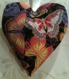 Valentine's Day / Butterfly Fabric Lavender Heart / Butterfly Gift - Handmade in Home, Furniture & DIY, Celebrations & Occasions, Other Celebrations & Occasions | eBay