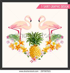 Flamingo Tropical Stock Photos, Images, & Pictures | Shutterstock