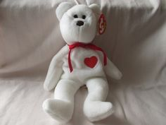 Vintage 1994 Beanie Baby Valentino by jclairep on Etsy