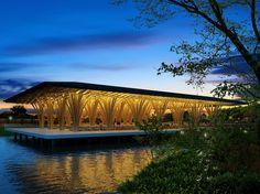 Jardines de Mexico, Morelos, Mexico - Vo Trong Nghia #bamboo