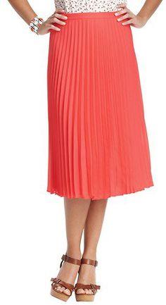 #Ann Taylor Loft          #Skirt                    #Pleated #Length #Skirt   Pleated Mid Length Skirt                            http://www.seapai.com/product.aspx?PID=784683