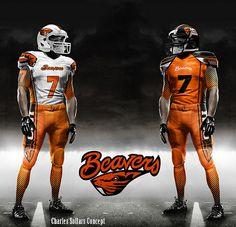 Oregon State Beaver Football