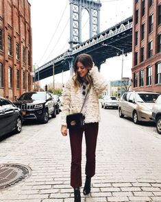 Brooklyn bridge outfit of the day