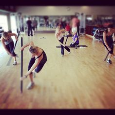 Exercise of the day: barbell or ViPR ice skaters. 3x20. @ Life Time Fitness - Lakeville  Photo by rsvenby • Instagram