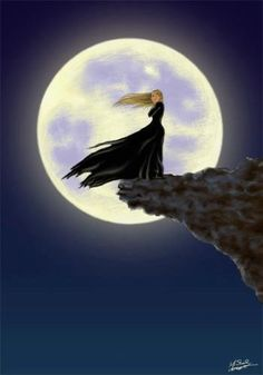 Don't jump!  Instead release your emotions that want to make you jump!  Full moon magic!