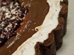 Chocolate Hazelnut Pavlova Tart
