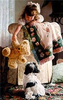 Fine artist Jean Monti is a nationally recognized portrait and figurative painter specializing in contemporary oil paintings of women and children. Greg Olsen, Realistic Paintings, Love Images, Cute Illustration, Rhode Island, Dog Art, Beautiful Paintings, Puppy Love, Painting & Drawing