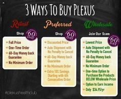 Try Plexus products risk free with money back guarantee!! Ask me how to get started today!! You want to be healthy right?? www.shopmyplexus.com/Lyndzipowers